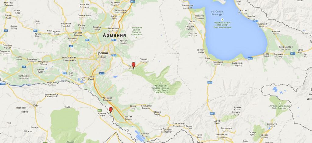 Армения Грузия день 1