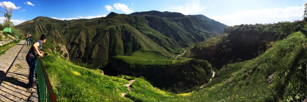 панорама Гарни