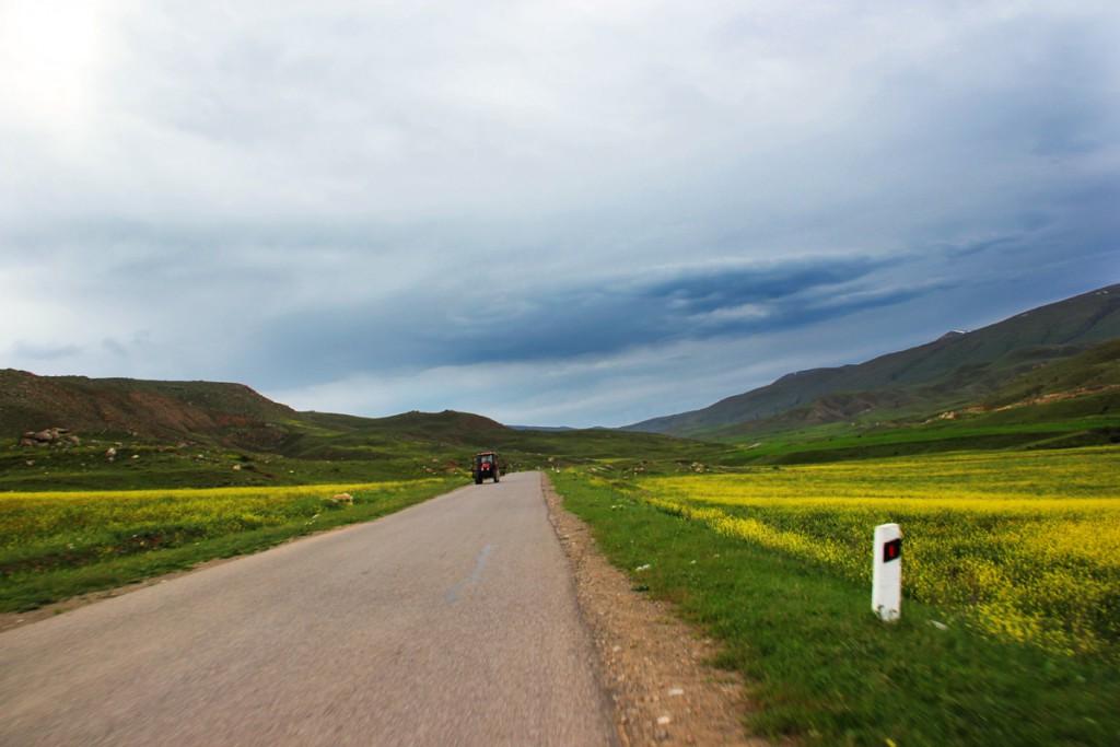 Дорога к Нораванку