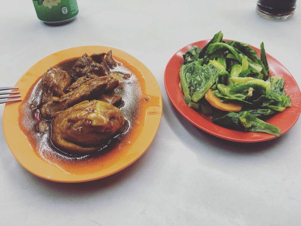 Еда в Куала-Лумпуре